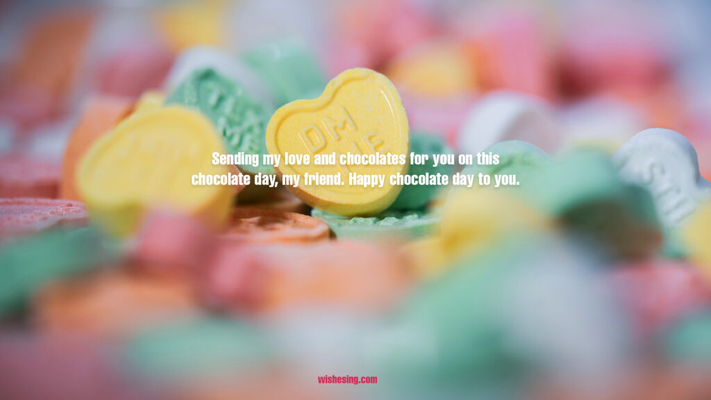 Happy Chocolate Day 2021 Wishes, Quotes, Messages With Rose Day Images
